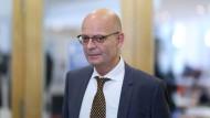 Der Oberbürgermeister von Halle: Bernd Wiegand (parteilos)