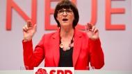 Kritisierte in ihrer Rede die CDU-Vorsitzende Annegret Kramp-Karrenbauer: Saskia Esken