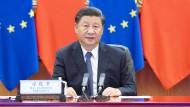 Selbsbewusst: Der chinesische Präsident Xi Jinping.