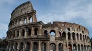 Eines der berühmtesten Überbleibsel des Römischen Reiches: Das Colosseum in Rom.
