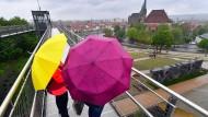 Dürfte in den kommenden Tagen häufiger zum Einsatz kommen: der Regenschirm.