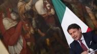 Giuseppe Conte, Ministerpräsident von Italien, im August 2020 in Rom