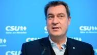 Warnt die SPD: der CSU-Vorsitzende Markus Söder