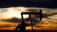 Ölpumpe in Texas