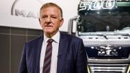Traton-Chef Andreas Renschler: Die VW-Tochter plant ihren Börsengang am Freitag.