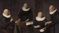 """Im Vollbewusstsein ihrer Verantwortung: Dirck Santvoort malte die """"Leiterinnen und Wärterinnen des Spinhuis"""" 1638."""