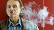 Von seiner aufmüpfigen Lässigkeit könnten sich andere eine Scheibe abschneiden: Michel Houellebecq