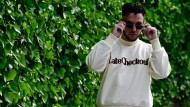 Hier noch in cooler Pose: Rapper C. Tangana in Madrid