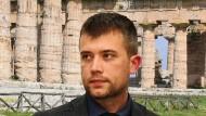 Gabriel Zuchtriegel im März 2018 in Paestum