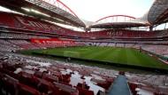 Hier wird es passieren, im Estadio da Luz in Lissabon, der Heimat von Benfica, wird am 23. August das Finale der Champions League ausgetragen - ohne Publikum natürlich.