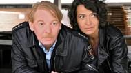 Aus ihnen wurde kein Paar: Ben Becker als Dorfpolizist, Ulrike Folkerts als Kommissarin Odenthal