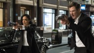 "Kampfstark: Tessa Thompson und Chris Hemsworth in ""Men in Black: International"""