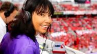 Tor in  Leverkusen: Sportreporterin Sabine Töpperwien hört auf