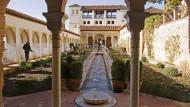 Wasser spielt die Hauptrolle: Garten der Alhambra, Granada.