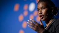 Streitbare Autorin und Aktivistin: Ayaan Hirsi Ali bei einem Vortrag in der Schweiz.