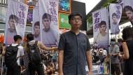 Besorgt um die freie Rede: Demokratie-Aktivist Joshua Wong kandidiert für die Wahlen zum Legislativrat von Hongkong.