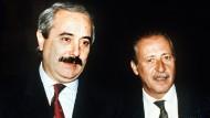 Mafia-Opfer als Pizzeria-Testimonials: Niemand hat Falcone vergessen