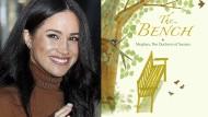 """Ein Kinderbuch musste es auch sein: Meghan Markle und """"The Bench""""."""