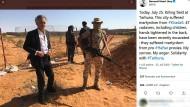 Bernard-Henri Lévy bei seiner Reise nach Libyen. Er hält sie für einen großen Erfolg. Und steht damit ziemlich allein da.