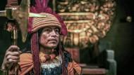 Der Inka-König Huayna Cápac hielt die Spanier zunächst für ungefährlich.