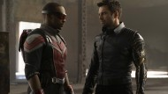 <CS8.9>Tief durchatmen, schließlich geht es um das Vermächtnis von Captain America: Anthony</CS> Mackie (links) als Falcon, Sebastian Stan als Winter Soldier.