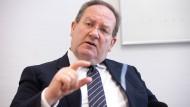 Bafin-Präsident Felix Hufeld im Gespräch