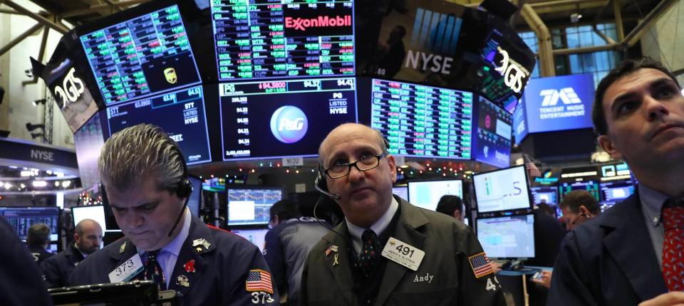 An der Wall Street sind Rekordabflüsse aus amerikanischen Aktienfonds zu beobachten.