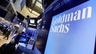 Goldman Sachs verdiente im vergangenen Quartal weniger.