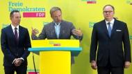 Der FDP-Parteivorsitzende Christian Lindner stürzte zuletzt Generalsekretärin Linda Teuteberg.