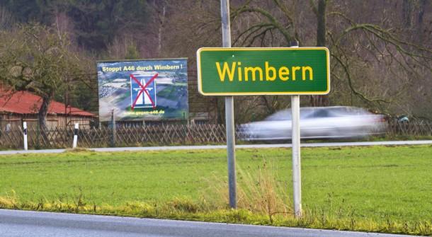 Irgendwas ist ja immer: Nicht nur ein geplanter Autobahnausbau erregt Wimbern, sondern auch ein neues Heim für Asylanten in einem alten Krankenhaus
