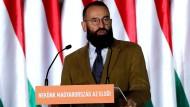Ungarischer EU-Abgeordneter: Die Orgie endet an der Regenrinne