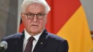 Bundespräsident Frank-Walter Steinmeier im August in Salzburg