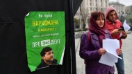 Für die Behauptung der Poroschenko-Anhänger, der Oppositions-Kandidat Wolodymyr Selenskyj sei rauschgiftsüchtig, gibt es keine Beweise.