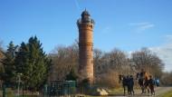 Der Turm in Schönebeck ist einer der ältesten Bismarcktürme.