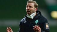 Angezählt beim Bundesligaklub in Bremen: Trainer Florian Kohfeldt