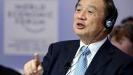 Hält Huawei Wettbewerbern gegenüber für überlegen: Huawei-Gründer Ren