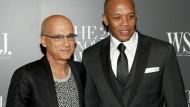 Jimmy Iovine und Dr. Dre auf einem Bild aus 2014