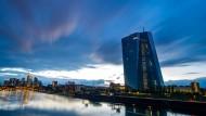 Die EZB in Frankfurt.