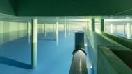 Wasserspeicherreservoir der Wasserversorgung für Trinkwasser und Nutzwasser in Oberursel bei Frankfurt