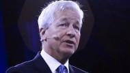 Der JP-Morgan-Vorstandsvorsitzende Jamie Dimon meldet Milliardengewinn nach Milliardengewinn.