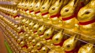 Nach dem Osterfest verringern viele Supermärkte den Preis der Ostersüßigkeiten, um sie noch an Mann, Frau und Kind zu bringen.