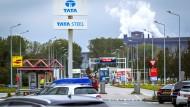 Das Tata-Werk im niederländischen IJmuiden