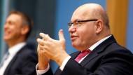 Peter Altmaier (CDU), Bundesminister für Wirtschaft und Energie, am Freitag in Berlin