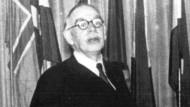 John Maynard Keynes während der Bretton-Woods-Konferenz im Jahr 1944, in der es um die wirtschaftspolitische Nachkriegs-Ordnung ging.