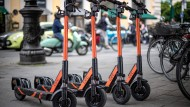 Fahren künftig unter einem neuen Eigentümer: Circ-Roller in München.