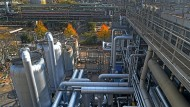Großindustrielle Ammoniaksynthese bei BASF