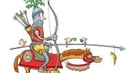 Einen Bogen aus Eibe schätzten Jäger schon lange vor dem Mittelalter, denn das Holz ist fest, aber zugleich elastisch.