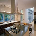 Kitchen Island With Gas Hob In Stainless Buy Image 11014510 Living4media