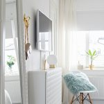 Table Lamp On Narrow White Floating Buy Image 12308798 Living4media