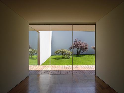 View From Cubist Minimalist Interior Buy Image 12979850 Living4media